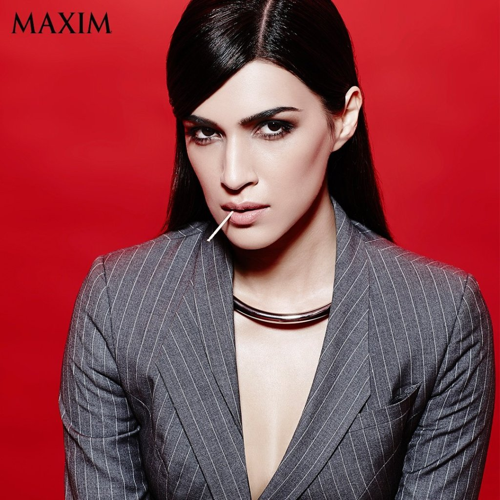 Kriti Sanon Photoshoot Of Maxim Magazine December 2016 Issue