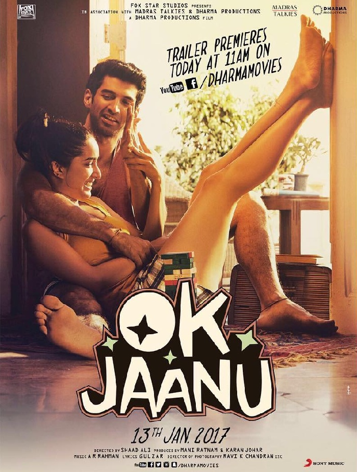 OK Jaanu Romantic Fourth Poster