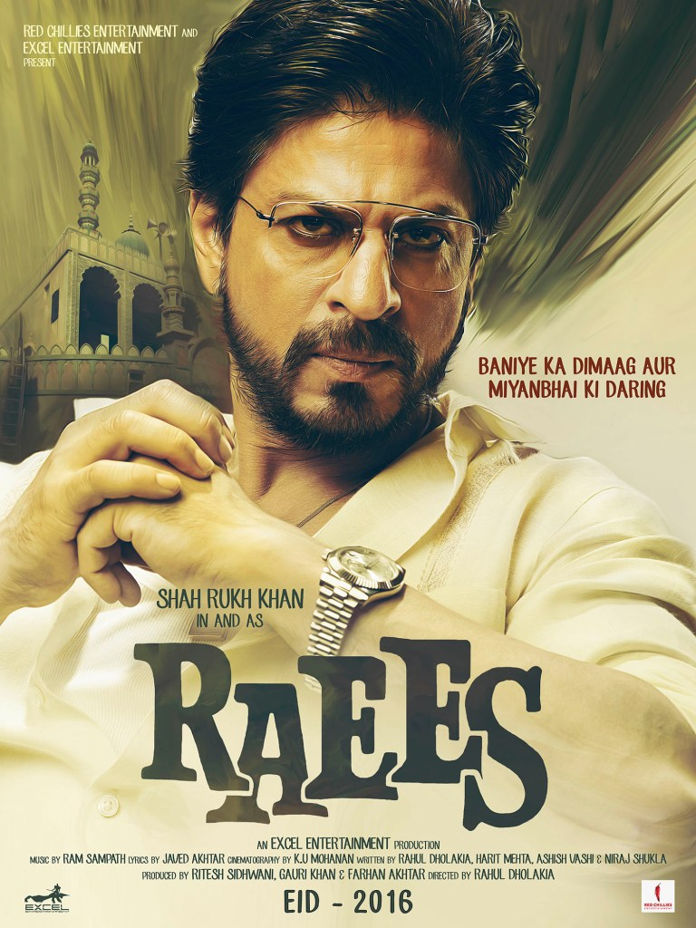Raees Poster 2 - India Release