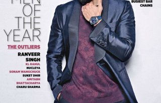 Ranveer Singh - Man of the Year covers Man's World magazine December 2016 Issue