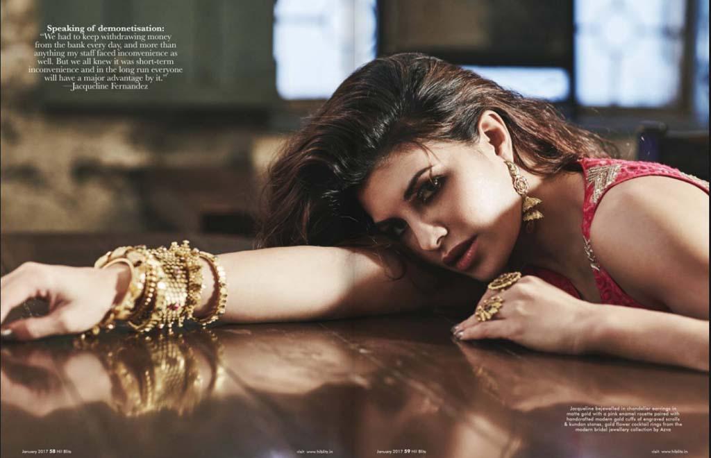 Jaqueline Fernandez Cover PhotoShoot for Hi!Blitz Magazine January 2017 Image 9