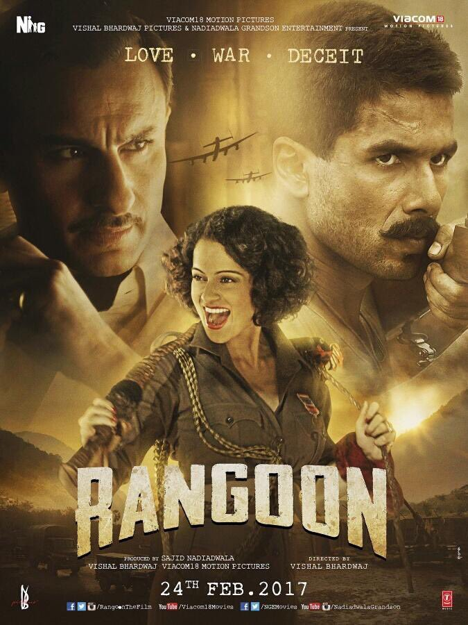 Rangoon Fourth Poster - India Release 2017