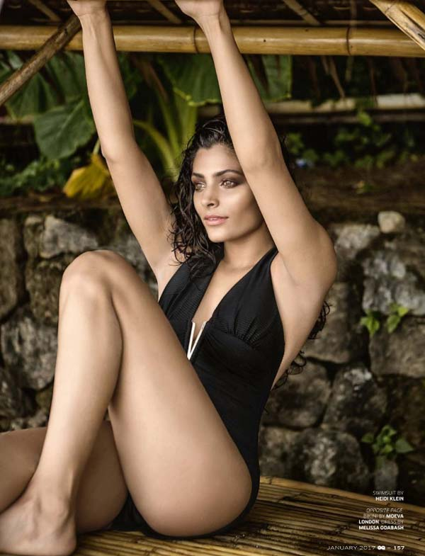 Saiyami Kher Photoshoot GQ India Magazine January 2017 Pictures 2