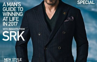 Shah Rukh Khan On The Cover Of GQ India Magazine January 2017 Issue