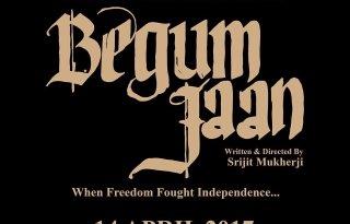 Begum Jaan Movie Poster - India Release 2017