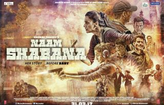 Naam Shabana Movie Poster 2 - India Release 2017