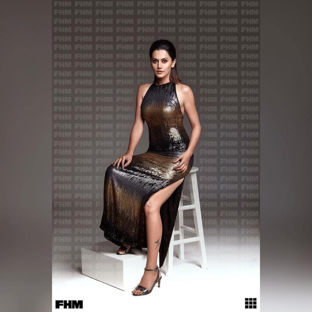 Taapsee Pannu Photoshoot For FHM India Magazine February 2017 Issue Image 2