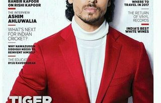 Tiger Shroff On The Cover Of MW Magazine February 2017 Issue