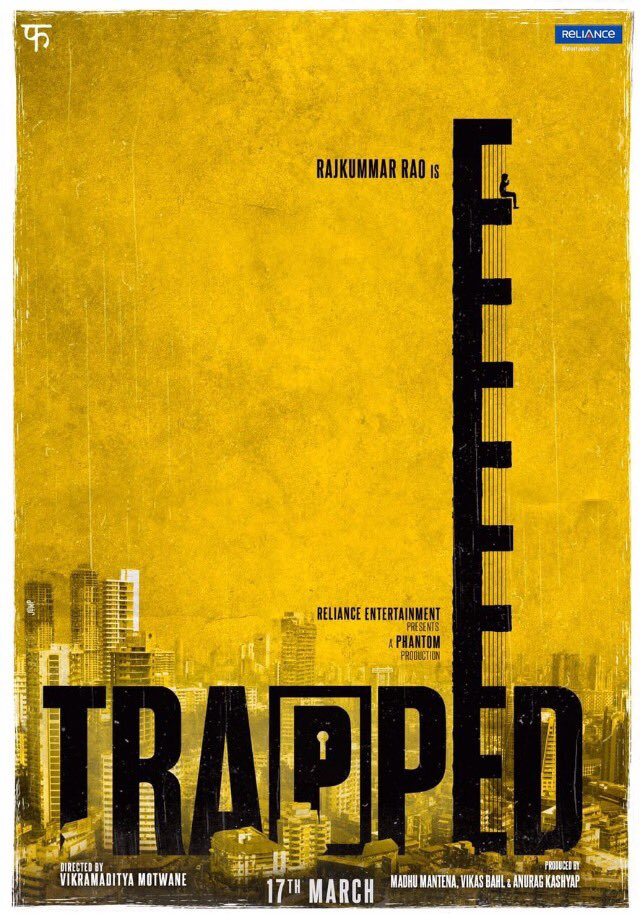 Trapped New Poster Featuring Rajkummar Rao