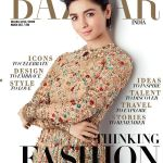 Alia Bhatt On The Cover Of Harper's Bazaar India Magazine March 2017