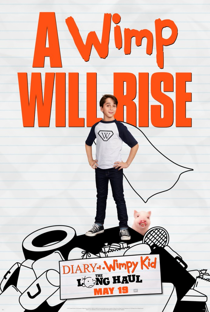 Diary of a Wimpy Kid- The Long Haul Movie Poster - India Release 2017