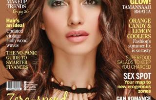 Tamannaah Bhatia On The Cover Of Femina India Magazine March 2017