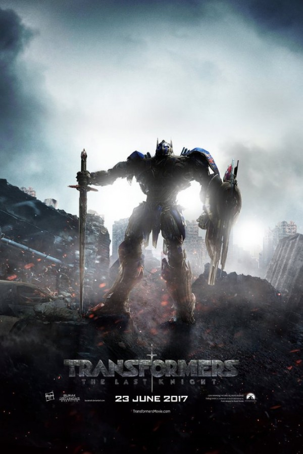 Transformers- The Last Knight MOvie Poster - India Release 2017