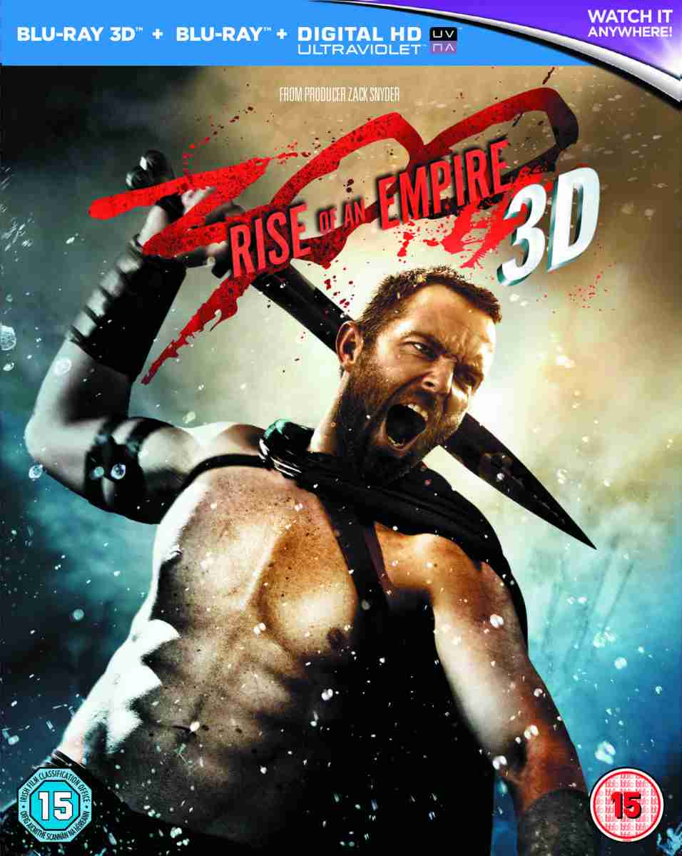 300: RISE OF AN EMPIRE Muscles Onto Disc And HD Download In September