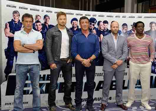 expenables3 world premiere and press conference london