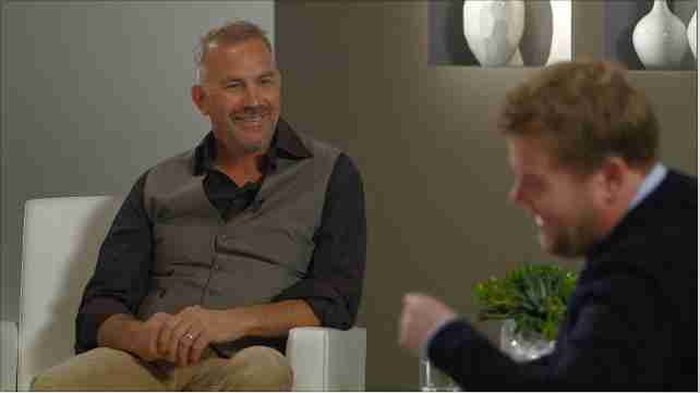 Self-Serving Sycophant James Corden Chats With Kevin Costner