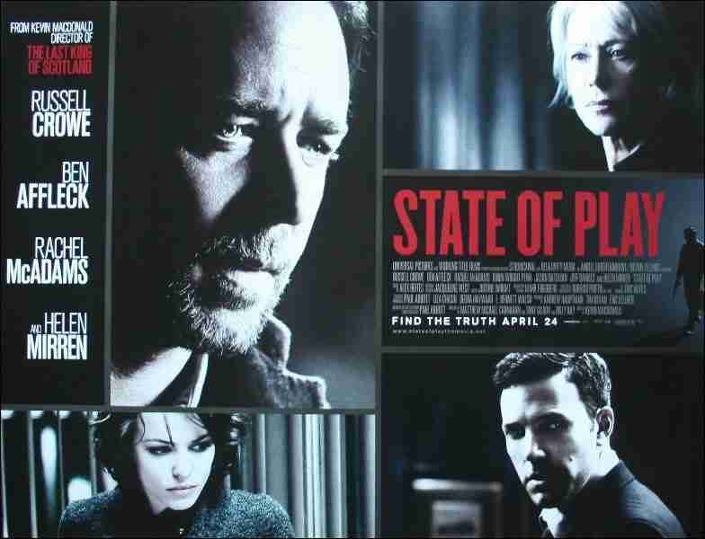 Review: Russell Crowe And Ben Affleck Get Political In STATE OF PLAY