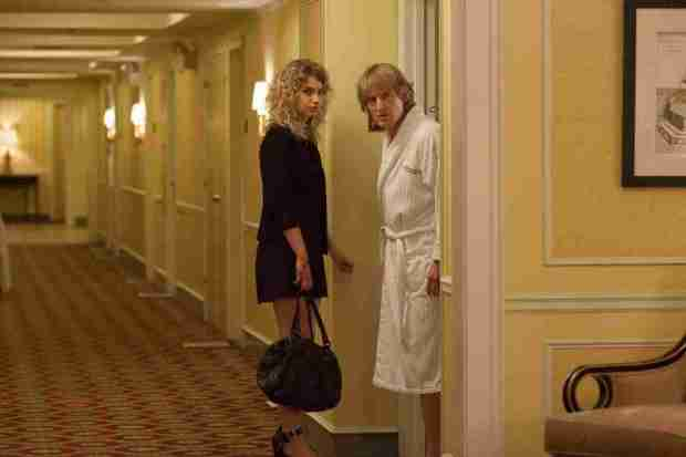 Imogen Poots and Owen Wilson in She's Funny That Way