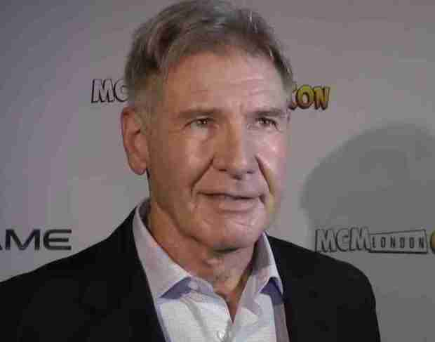Meeting Harrison Ford Ender's Game
