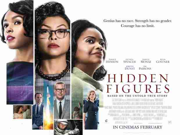 Image result for hidden figures poster