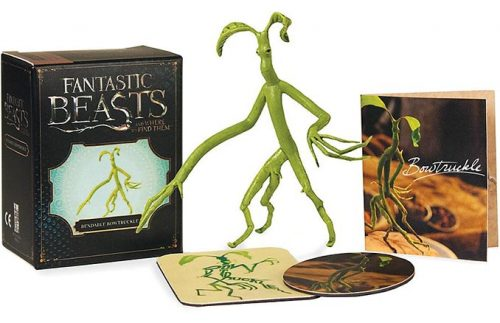 Fantastic Beasts and Where to Find Them Bendable Bowtruckle 500x323 Fantastic Beasts and Where to Find Them: Bendable Bowtruckle