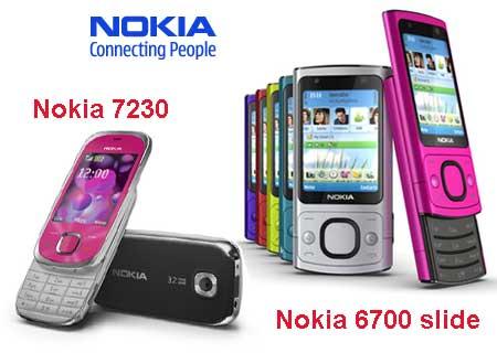 Nokia 7230 y 6700