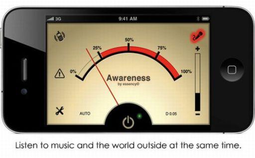 awareness aplicacion iphone