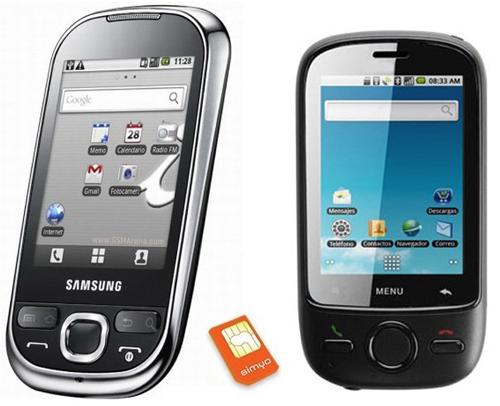 Simyo y Android