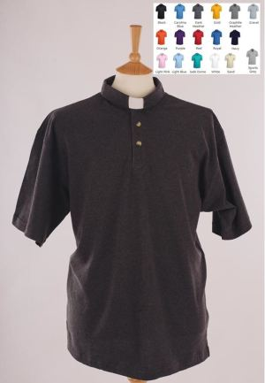 DryBlend Clerical Clergy Polo Shirt