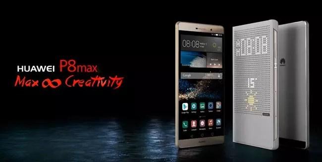 Carcasa de aluminio del Huawei P8 Max