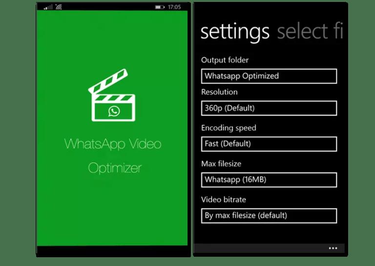 whatsapp video converter windows phone