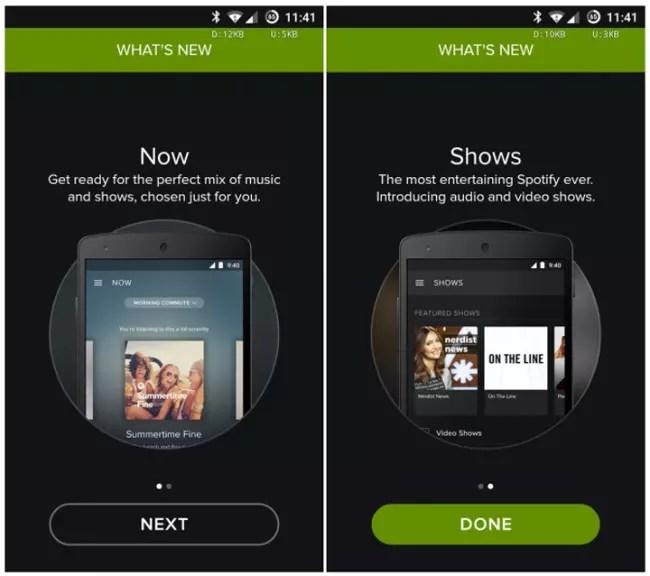 Spotify Beta para Android