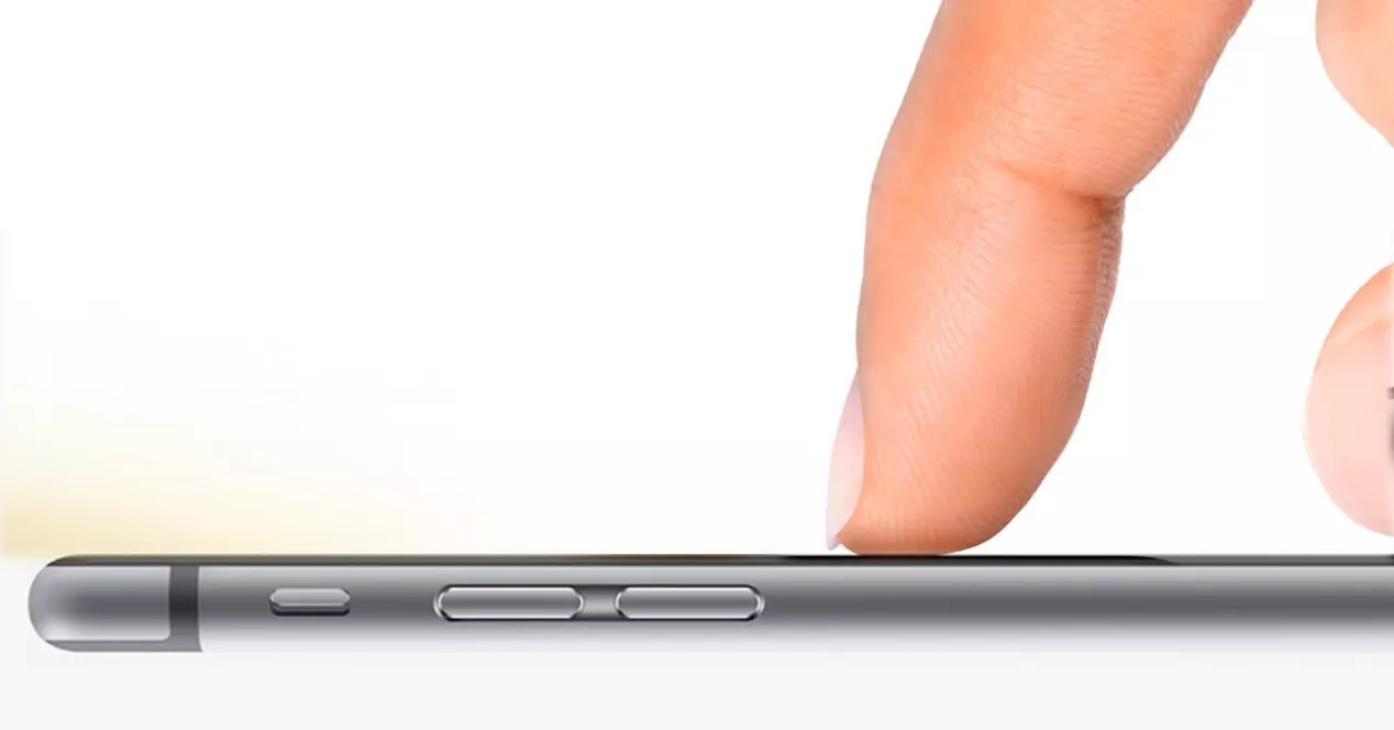 iPhone 6s con Force Touch.