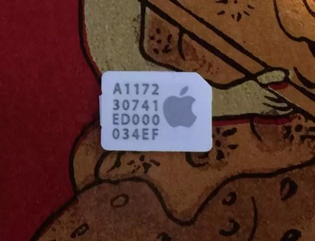 Tarjeta SIM Virtual de Apple