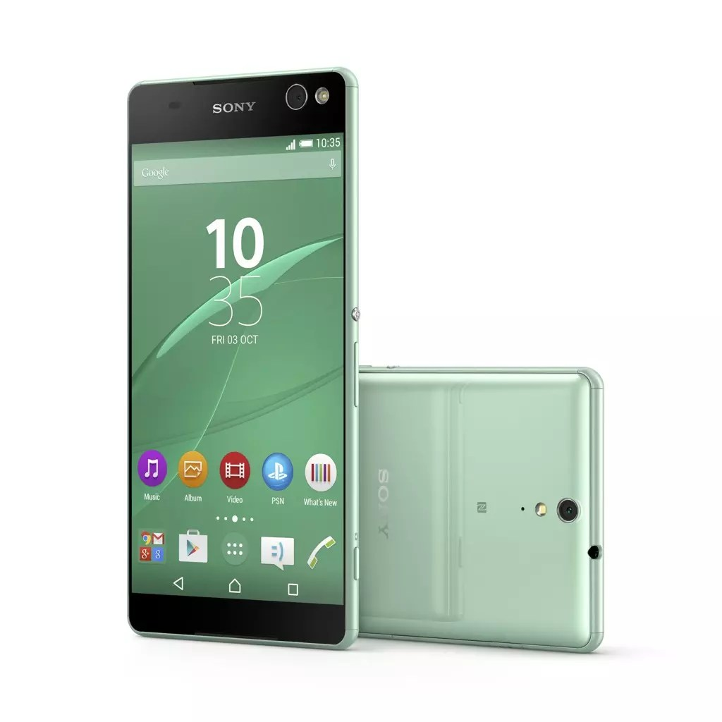 Sony Xperia C5 Ultra verde