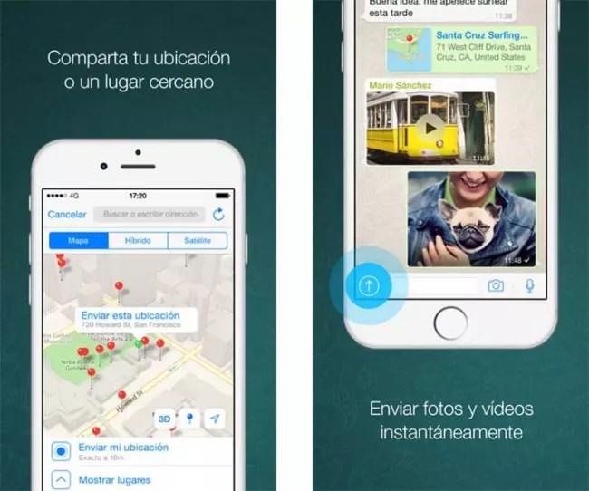 App de WhatsApp para iPhone