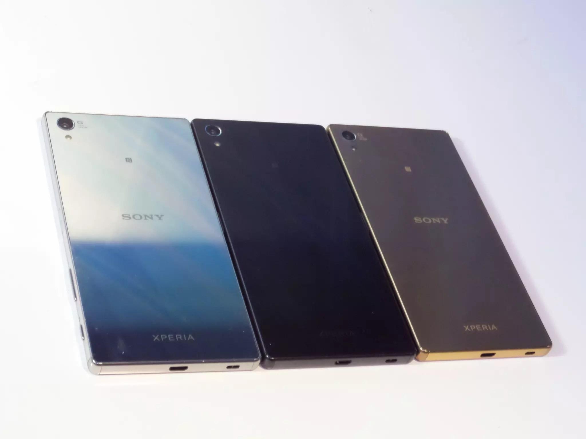 Sony Xperia Z5 Premium colores