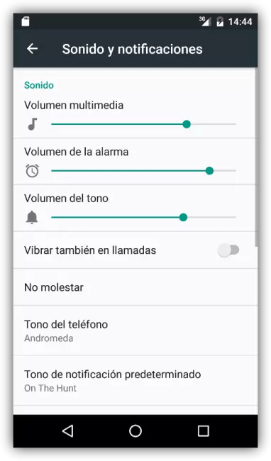 Sonidos y Notificaciones de Android 6.0 Marshmallow