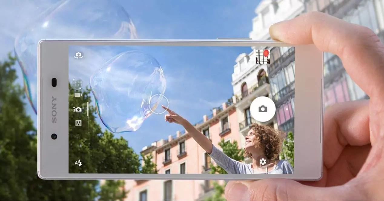 Xperia Z5 camara app portada