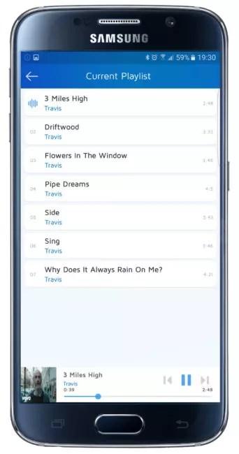 Listado de MusicGrip