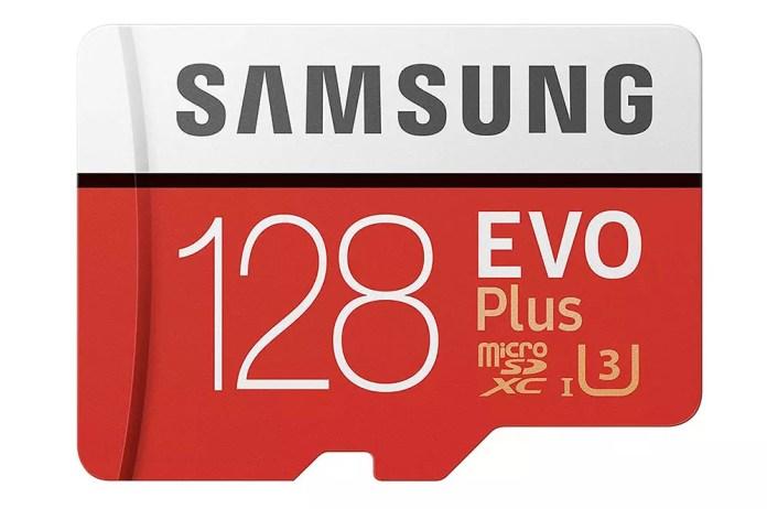 128GB Samsung EVO Plus