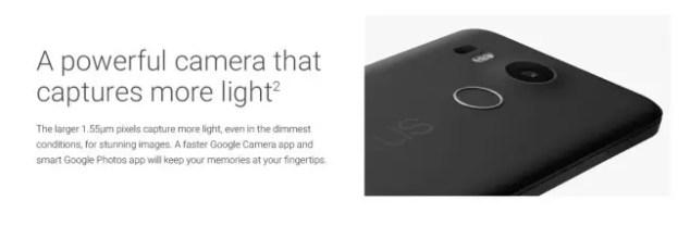 Nexus 5X imagen real