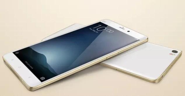 Frontal y trasera del Xiaomi Mi Note Pro