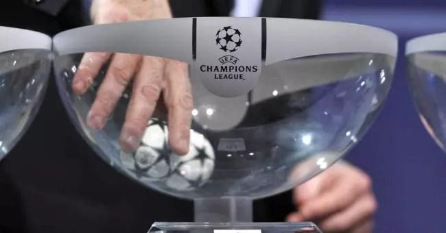 Champions League bombo