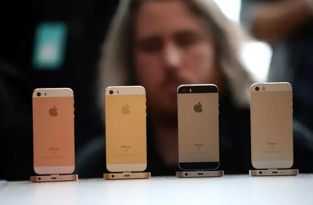 Colores del iPhone SE