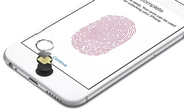 Sensor Touch ID de un iPhone 6