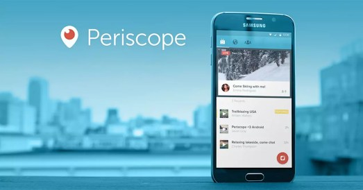 Periscope 2 - iOS users now enjoy with periscope's live 360 degree feature.