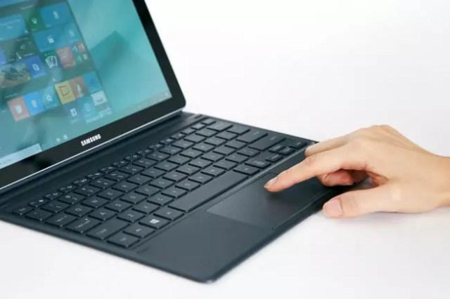 La tablet Samsung Galaxy Book