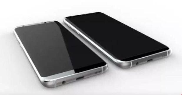 Samsung Galaxy S8 render