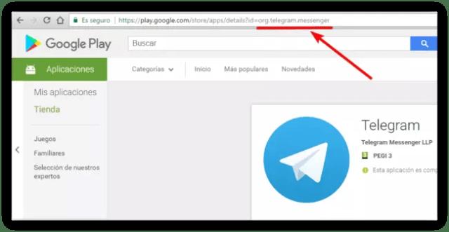 Nombre paquete App Android